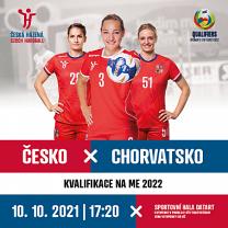 Reprezentační utkání žen: ČR – Chorvatsko